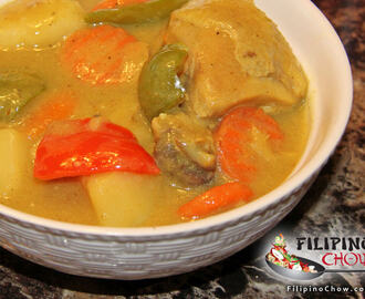 Filipino Chicken Curry