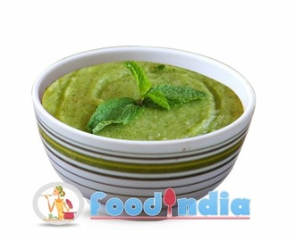 Pudina Chutney Recipe | Pudina Chutney also known as Mint Chutney