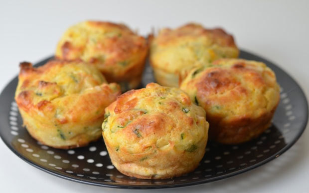 Muffins aux légumes Weight Watchers