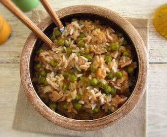 Rice with tuna and peas | Food From Portugal