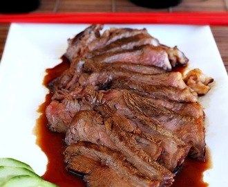 Grilled Beef with Teriyaki Sauce