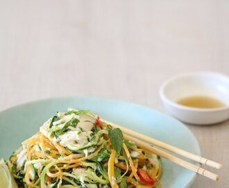 bitsofcarey wrote a new post, Thai Chicken & Veggie Noodle Salad, on the site Bits of Carey