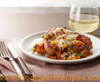 SAUCY ITALIAN PORK CHOPS