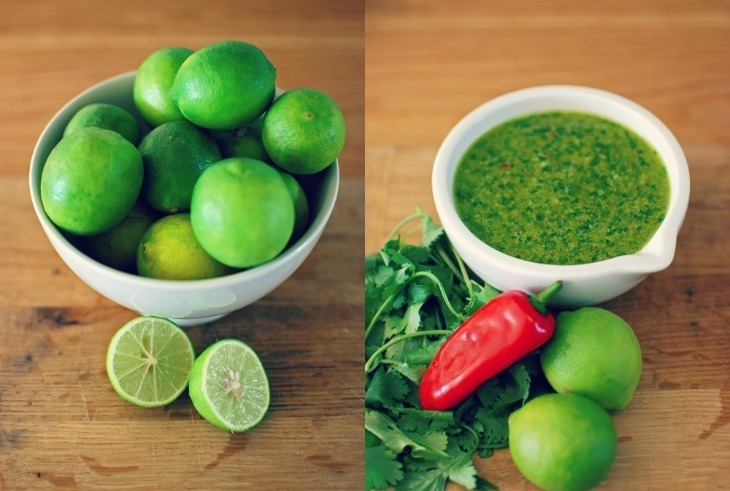 Coriander Pesto with Chilli & Lime