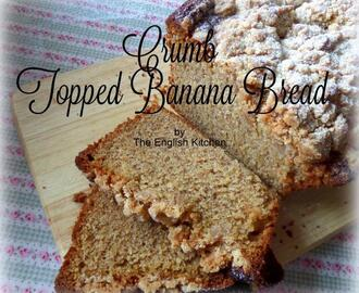 Crumb Topped Banana Bread