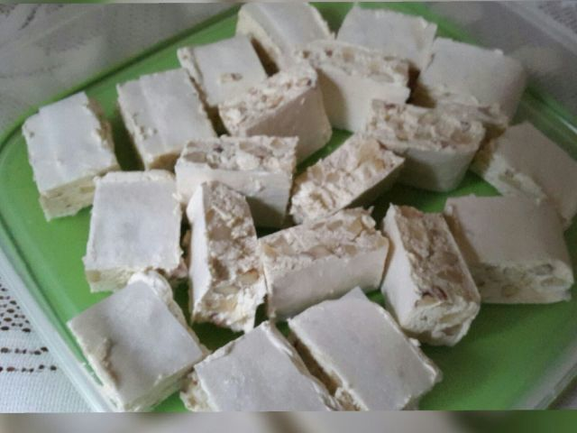 Homemade Nougat