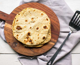 How to make easy yufka Turkish flatbread tortilla