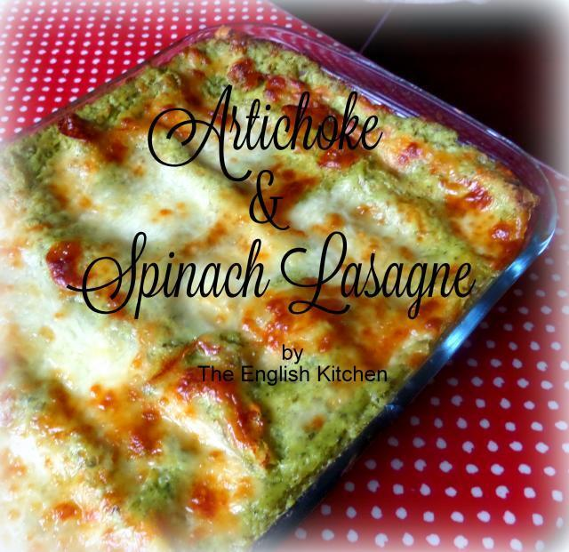 Artichoke and Spinach Lasagne