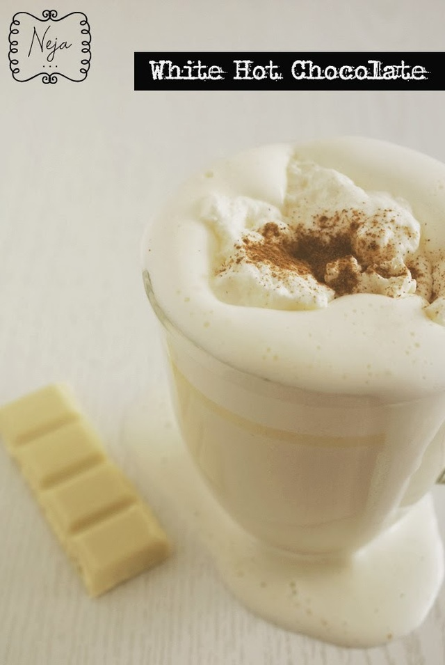 White Hot Chocolate / Bela vroca cokolada