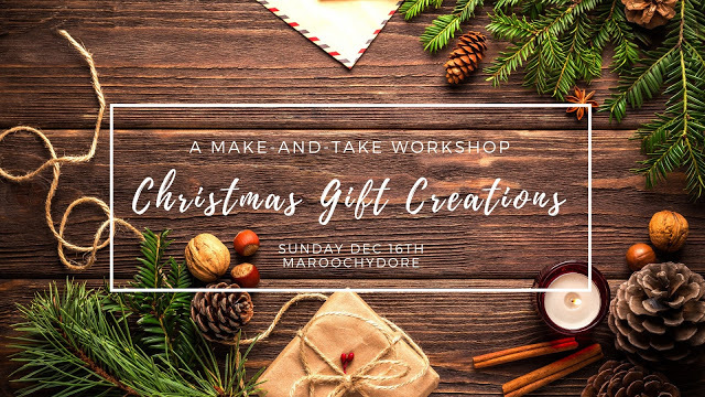 FANCY SOME CHRISTMAS GIFT CREATING AT MY PLACE?