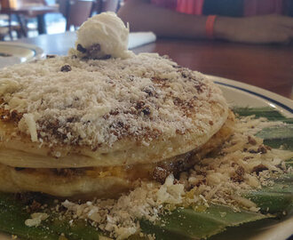 Bibingka pancake & new items on IHOP menu