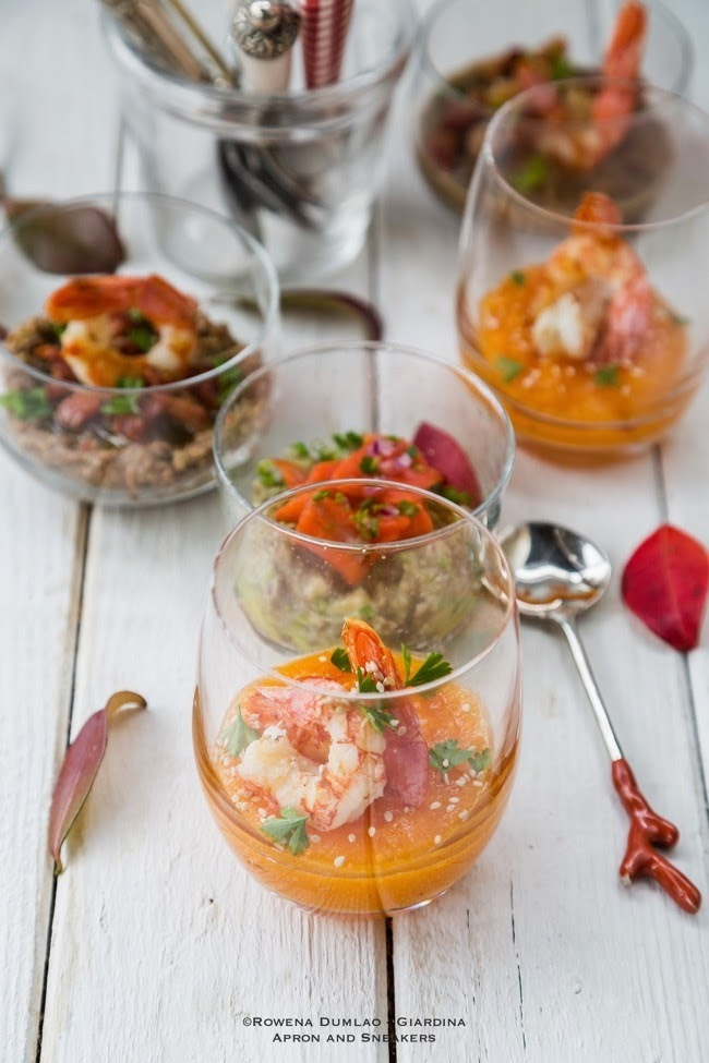 3 Impressive Cocktail Glass Party Appetizers
