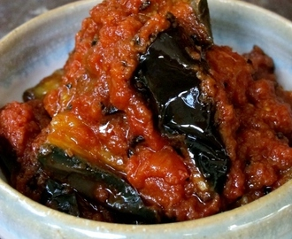 Bhartha (Spicy Indian Eggplant)