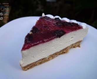 Pellegrino's No Bake Blueberry Cheesecake