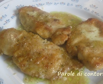 Filetti di petto di pollo all'origano