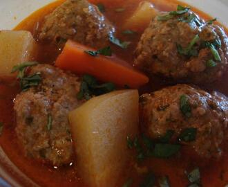 Authentic Sopa De Albondigas (Meatball Soup)