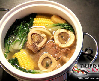 Bulalo (Beef Bone Marrow Soup)