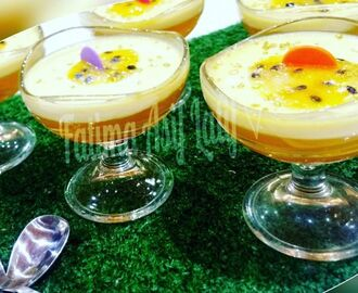 Passion fruit falooda