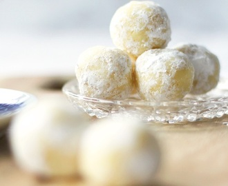 Pralinen: White Chocolate - Lemon - Truffles