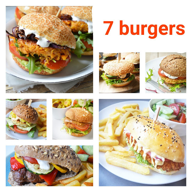 7 homemade burgers