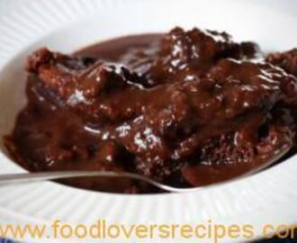 MICROWAVE HOT FUDGE PUDDING CAKE