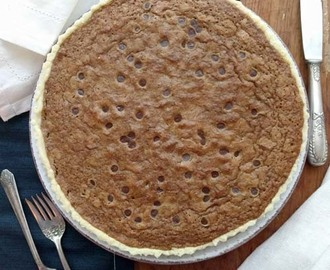 tuscaloosa tollhouse pie | una cookie hecha pastel
