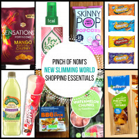 New Slimming World Shopping Essentials – 18/5/17