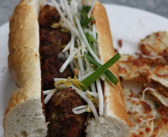 Asian Meatball Sandwiches