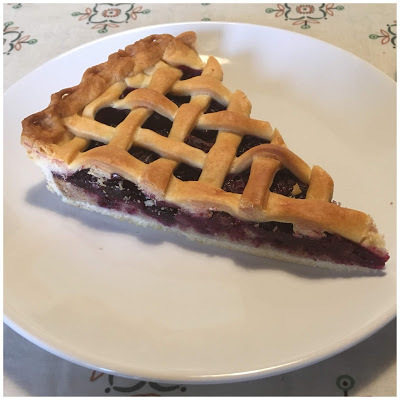 Blueberry Pie {Color y Sabor de Temporada} {Arándanos}