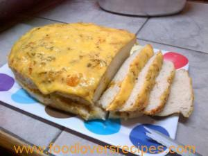GARLIC AND CHEESE BREAD IN GAS OVEN