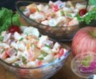 Luncheon Meat & Macaroni Salad Recipe