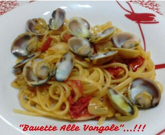 """Bavette Alle Vongole""...!!! - YouTube"