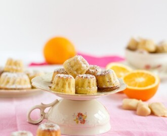 Mini Gugls mit Marzipan & Orange