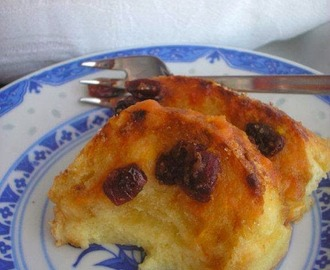 Baguette and butter pudding - Slatki složenac od kruha