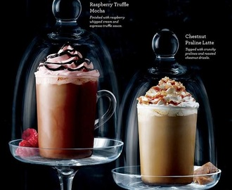 Starbucks Philippines is Going Candy Confections with Raspberry Truffle Mocha and Chestnut Praline Latte