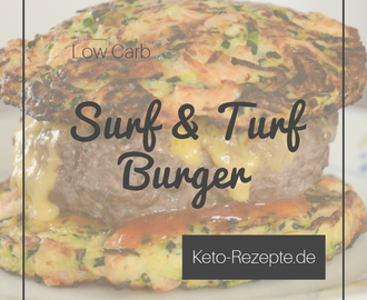 Keto Surf and Turf Burger