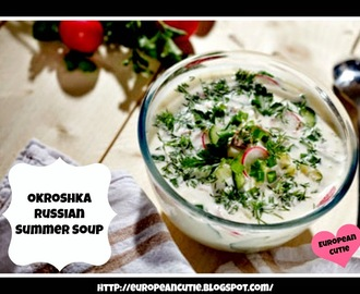 Okroshka Russian Summer Soup ♥