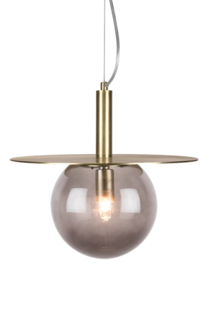 Globen Lighting Art Deco Taklampa Rök 34 cm