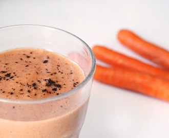 Winter Spiced Carrot Smoothie