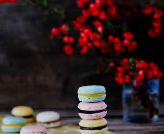 Osnovni recept za francuske makaronse/ Basic recipe for French macarons