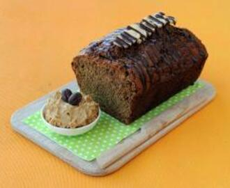 Banana Loaf with Espresso Butter