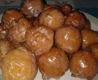 GLAZED DOUGHNUT HOLES
