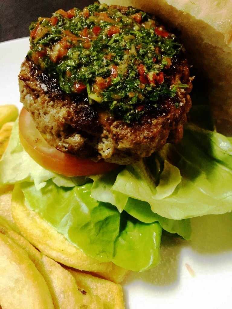 Chimichurri Burger – Recipe for Chimichurri Sauce