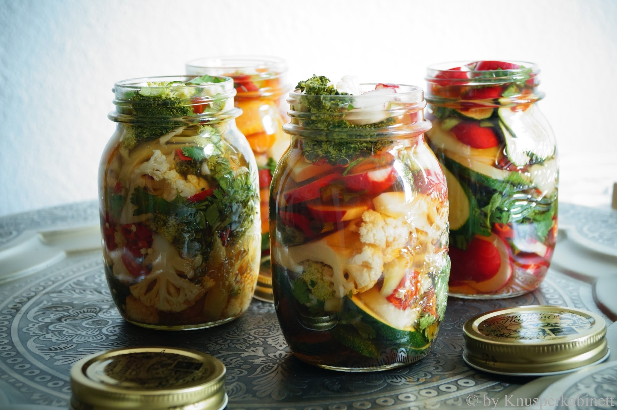Mixed Summer Pickles