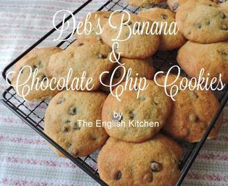 Deb's Banana Chocolate Chip Cookies