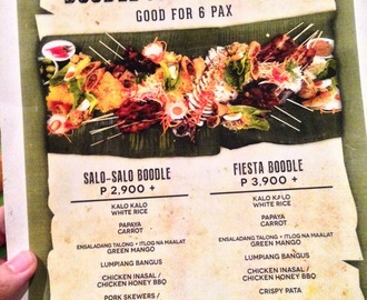 Have a Boodle Fight at Aracama Restaurant and Lounge in Bonifacio Global City