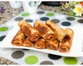 Ham and Cheese French Toast Roll-Ups