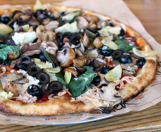 Unlimited Vegan Toppings at Blaze Pizza