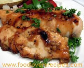 HONEY AND GINGER CHICKEN BREASTS