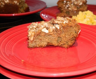 Walnut Apple Coffee Cake